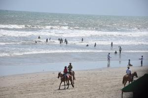 Labadi Beach, der Stadtstrand von Accra